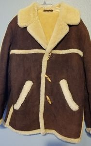 Marlboro Man Western Shearling Sheepskin Coat